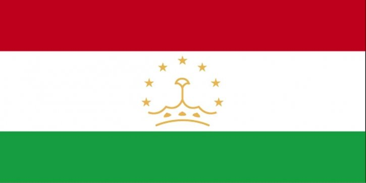 drapeau, Tadjikistan