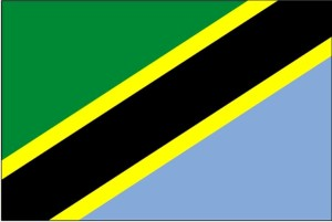 drapeau, Tanzanie