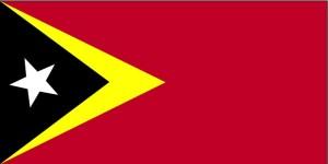 bandera, Timor Oriental