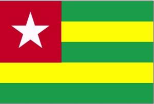 bandera, Togo