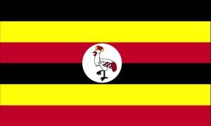 drapeau, l'Ouganda