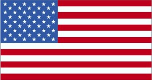 Flagge, USA, Pazifik-Insel, Naturschutzgebieten
