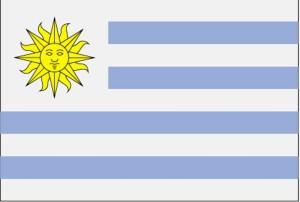 flag, Uruguay