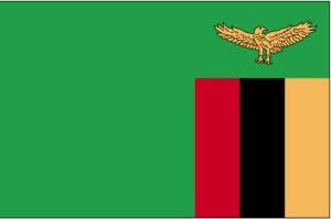 drapeau, la Zambie