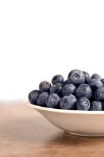 les bleuets, les fruits