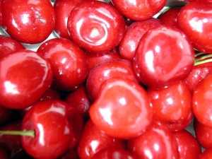 cherry, fruit, high, details, image