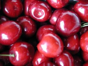 cerise, rouge, fruits