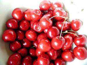 cerise, rouge, doux, fruits