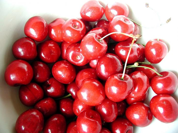 cherry, red, sweet, fruits