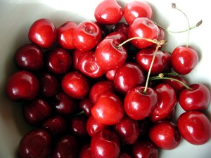 cerise, doux, fruts