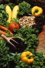 frutta, verdura, noci