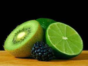 limes, kiwis, berry, berries