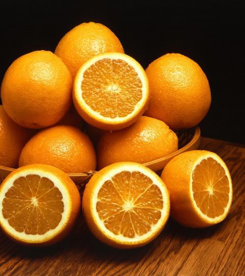 bolle, appelsiner