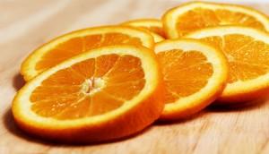 fette, frutta, arancione, fresco, frutta succosa, cibo