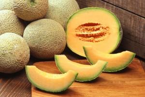 cantaloups, melons