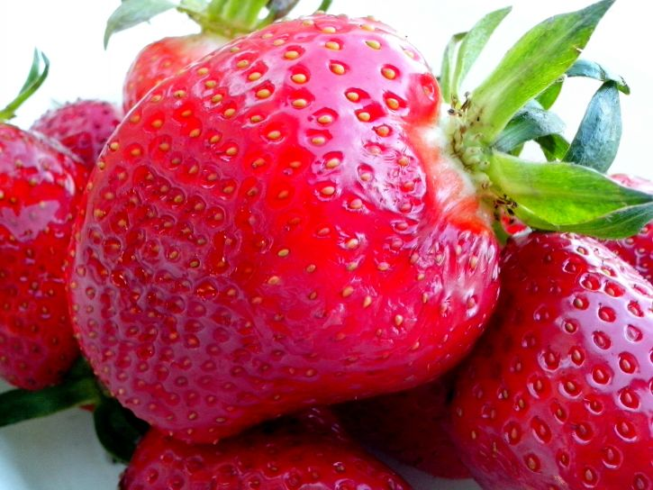 strawberries, tasty, fruit