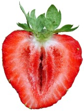strawberry, sliced