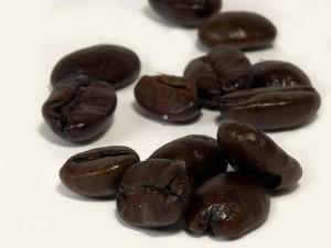 întuneric, prăjită, cafea, fasole