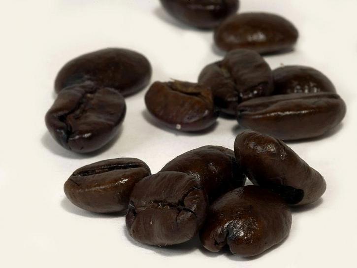 dunkel, geröstet, Kaffee, Bohnen