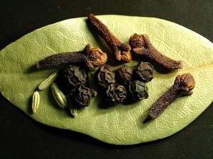 peppercorns, seeds