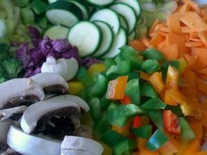 verschieden, saisonal, Gemüse