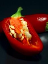 chili, chili, peber, frø, bælg
