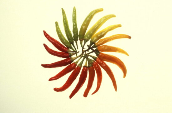 colorfull, hot, peppers