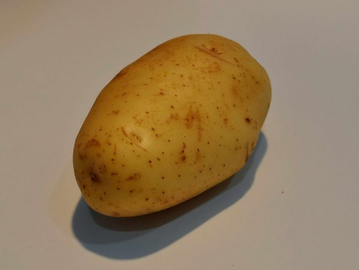 white, potatoes, vegetable, white, table