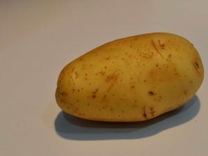 batatas cozidas, legumes