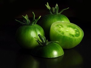 tomatoes, green