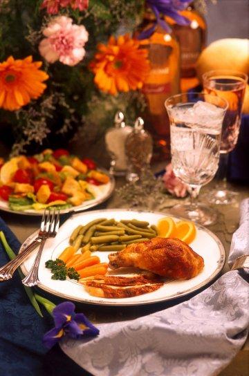 ozdobný, jídlo
