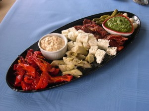 antipasto, food