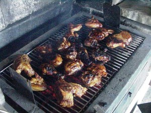 barbecue, chicken