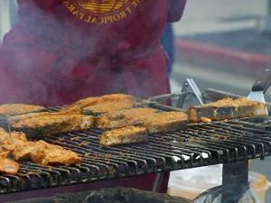 grilling, salmon, grills