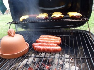 smoked, burgers, food
