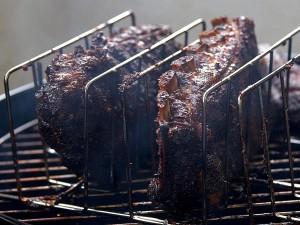 smoked, ribs, grill