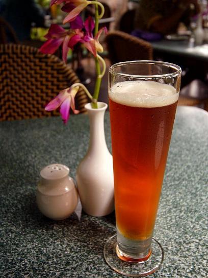 pivo, sklo