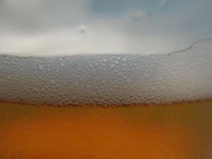 beer, glass, close
