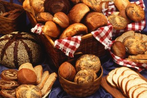 breads, food, integral, flour, bun, cake
