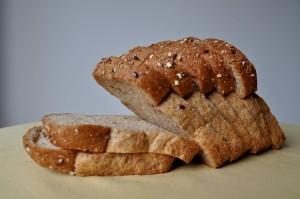 vysoká kvalita, celozrnná, chléb, pšenice, ječmen, oves, pohanka
