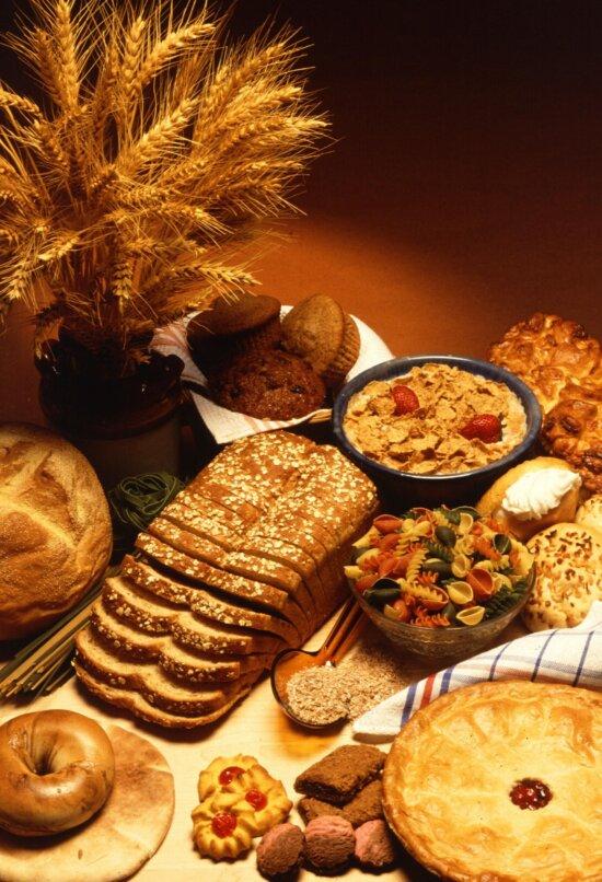 wheat, wheat, based, food