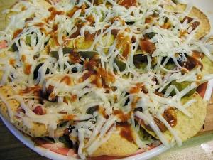 croquetas, nachos