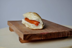 up-close, sandwich, sausage