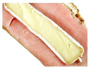 salami, sandwich, imagen