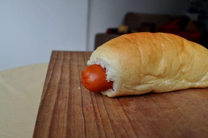 sandwich, wooden, plate