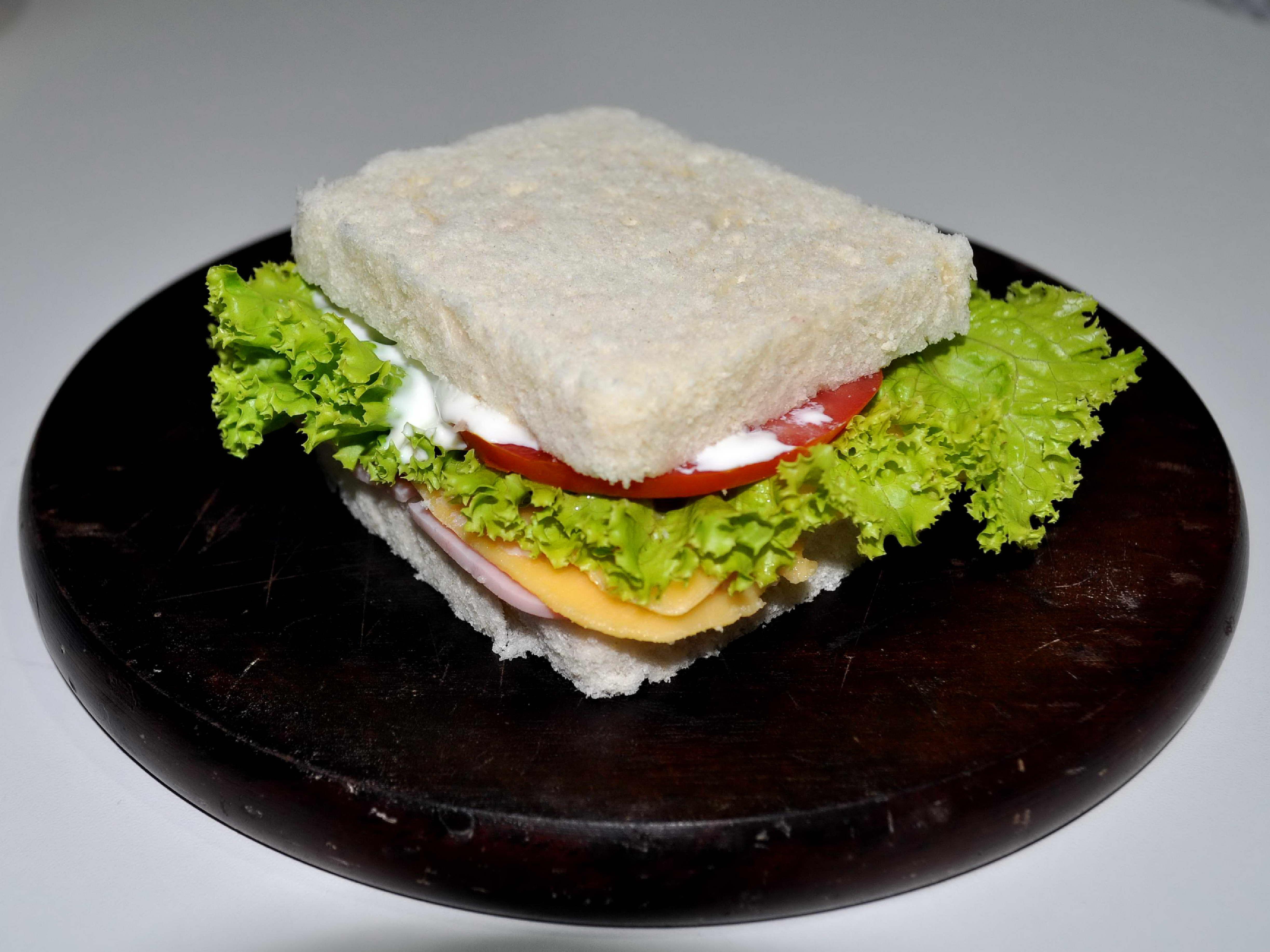 Free photograph; tasty, sandwich