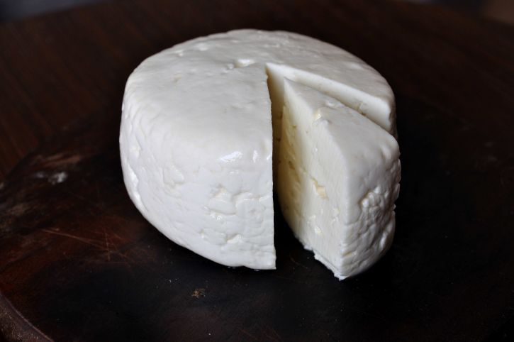 cheese, table, piece, excised