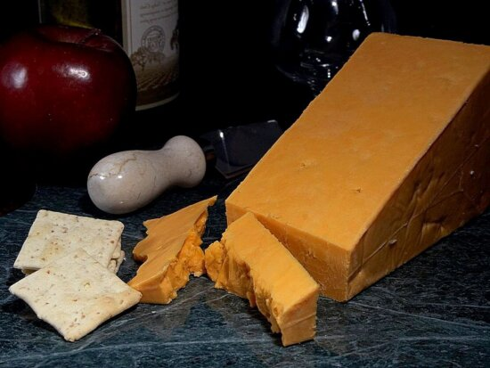red, leicester, cheese