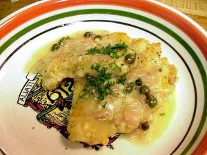 poulet, piccata, dîner, cuisine, nourriture