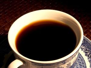 Morgen, Tasse, Kaffee, schwarz, Zucker